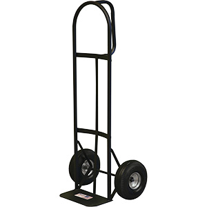 "Hand Truck D-Handle Utility Steel Frame 50-1/2""H"