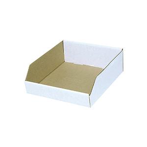"Cardboard Bin Boxes 12"" x 12"" x 4"""