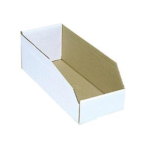 "Cardboard Bin Boxes 2"" x 18"" x 4"""