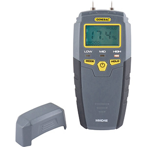 General Tools LED Moisture Meter MMD4E