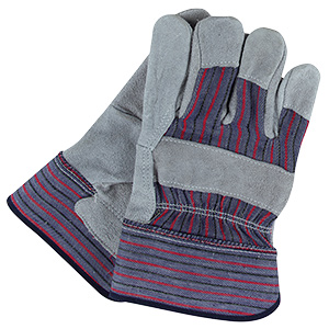 SAS Safety Split Leather Work Gloves Large