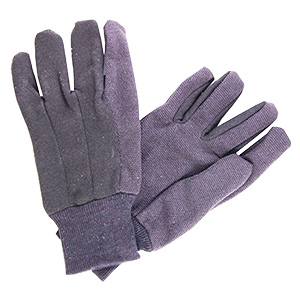 Jersey Gloves With Grip Dots Large