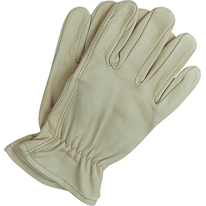 Leather Work Gloves Large