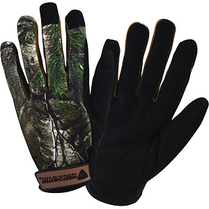 High-Dexterity Camouflage Gloves Large