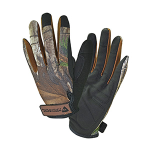 High-Dexterity Camouflage Gloves  X-Large