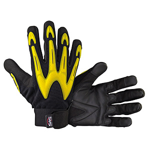 MX Impact Resistant Padded Palm Glove, Large, Pair, 6721-03