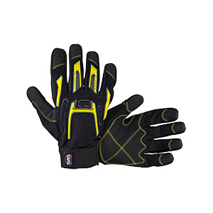 MX Impact Resistant Grip Palm Glove, X-Large, Pair, 6722-04