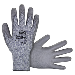 SafeCut Cut Resistant HPPE Knit Glove, Medium, Pair, 6775-02