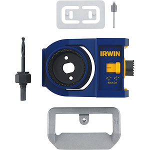 Irwin Bi-Metal Door Lock Installation Kit