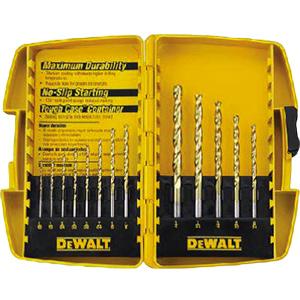 DeWalt 13-Piece Titanium Drill Bits