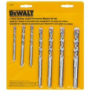DeWalt 7-Piece Masonry Drill Bits