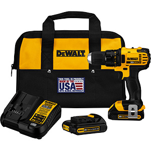 DeWalt 20V MAX Lithium-Ion Compact Drill/Driver Kit
