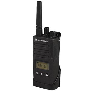 Motorola UHF Radio, 2-Watt, 8-Channel with Display