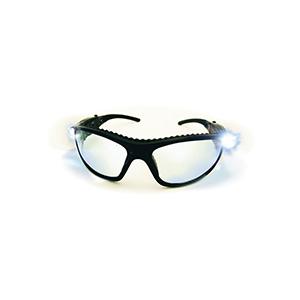 LED Safety Glasses Clear Lens