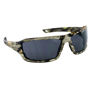 Dry Forest Camo Safety Glasses Gray Lens