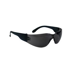 NSX Safety Glasses with Black Frame Gray Lens