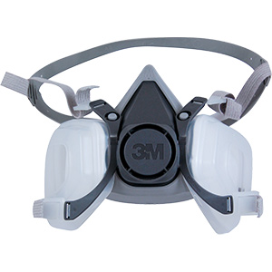 Multi-Use 3M Respirator For Pesticides Paint Organic Vapors