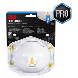 3M N95 Disposable Sanding and Fiberglass Safety Mask 2pk