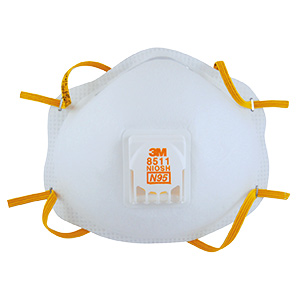 3M N95 Particulate Respirator with Exhale Valve