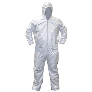Gen-Nex Protective Hooded Coverall Large