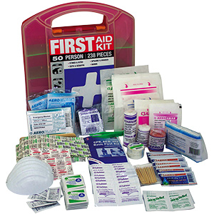 First Aid Kit 50-Person 238 Piece