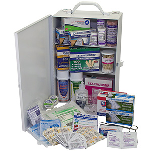 First Aid Kit 100-Person 583 Piece