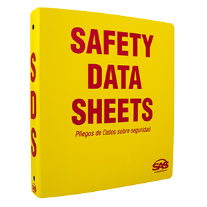 SDS Compliance Binder