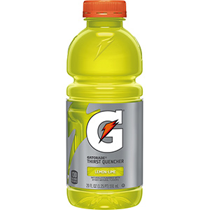 Gatorade 20 oz Bottle Sport Drink Lemon/Lime