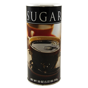 Pure Sugar 18 oz Container