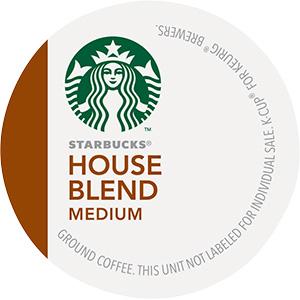 Starbucks House Blend K-Cup