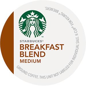 Starbucks Breakfast Blend K-Cup