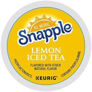 Snapple Lemon Tea K-Cup