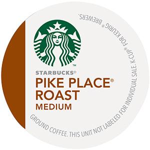 Starbucks Pike Place Roast K-Cup