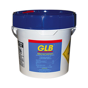 "GLB Bromine 1"" Tablets 25 lb Bucket"