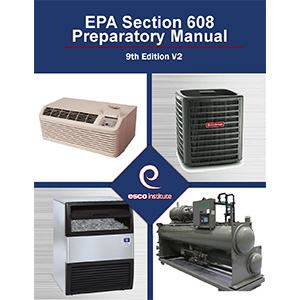 ESCO Institute EPA Certification Preparatory Manual English
