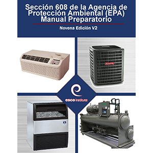 ESCO Institute EPA Certification Preparatory Manual Spanish