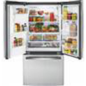 GE 17.5 Cu. Ft. Stainless French Door Refrigerator GYE18JSLSS