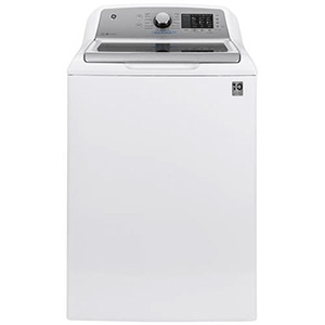 GE White 4.8 cu ft Washer