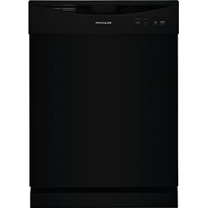 Frigidaire Black 2-Cycle Dishwasher FDPC4221AB