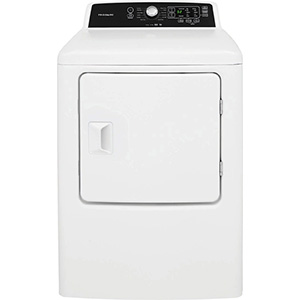Frigidaire White 6.7 Front Load Gas Dryer