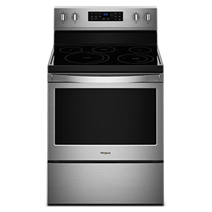 Whirlpool 5.3 cu ft Electric Range with Frozen Bake Technology