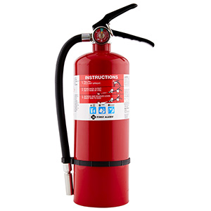 First Alert 5lb, 2-A:10-B:C Fire Extinguisher, Rechargeable