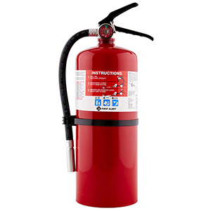 First Alert 10lb, 4-A:60-B:C Fire Extinguisher, Rechargeable