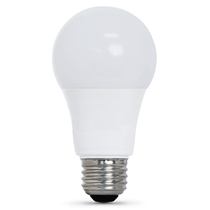 A19 LED Bulb Replaces 60W 4100K Non-Dimmable CEC