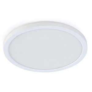 """5"""" LED Round Flat-Panel Fixture White"""