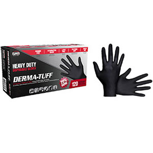 Derma-Tuff 6 Mill Nitrile Gloves Medium