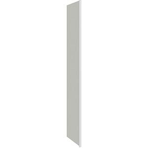 "Luxor White Refrigerator End Panel 3"" x 84"""