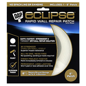 "Dap Eclipse wall repair patch 6"""