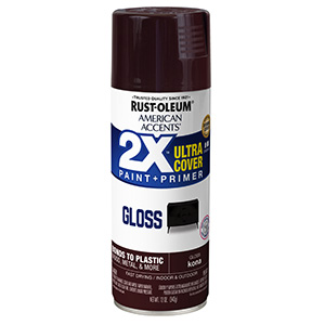 Gloss Kona Brown American Accents 2X Ultra Spray Paint