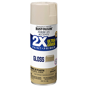 Gloss Almond American Accents 2X Ultra Spray Paint
